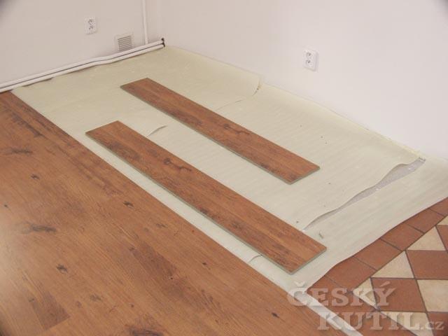Plovoucí podlaha, 1. díl – Pokládka
