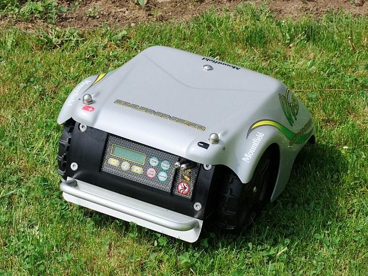 Robotická sekačka - čas dát si kávu
