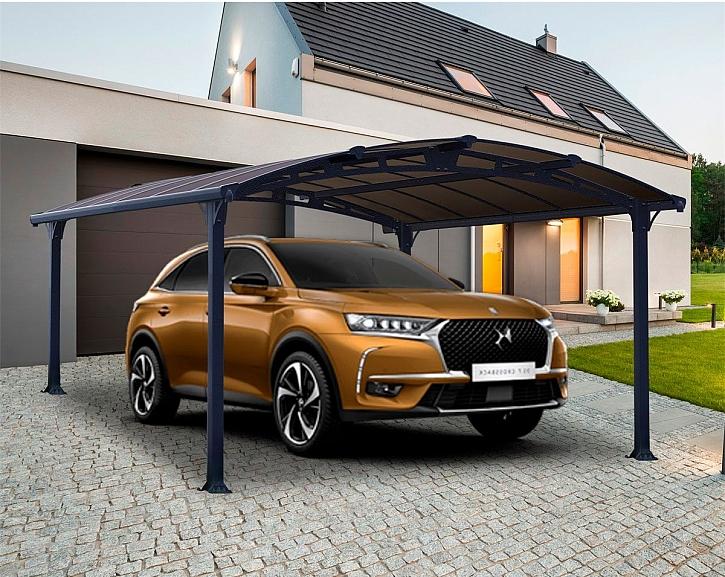 Vyzrajte na rozmary počasí a sestavte pro své auto kvalitní přístřešek – za jedno odpoledne (Zdroj: Garland)
