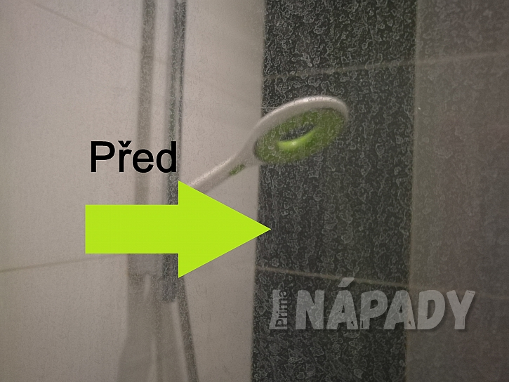 Zašlá zástěna sprchového koutu