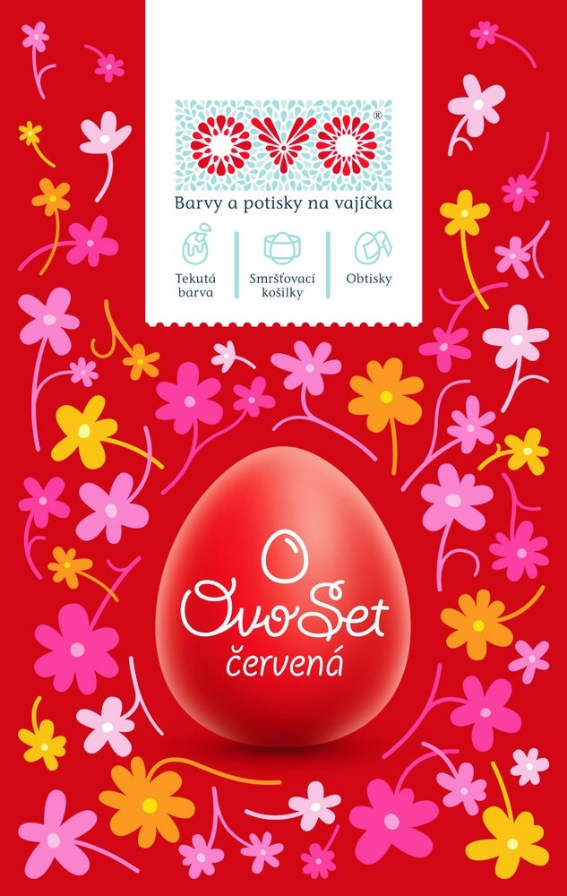 Zdobení velikonočních vajíček – barvy a obtisky OVO