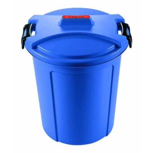 HEIDRUN popelnice kulatá 75 l modrá