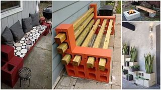 Betonové tvárnice mohou posloužit skoro jako kostičky lega