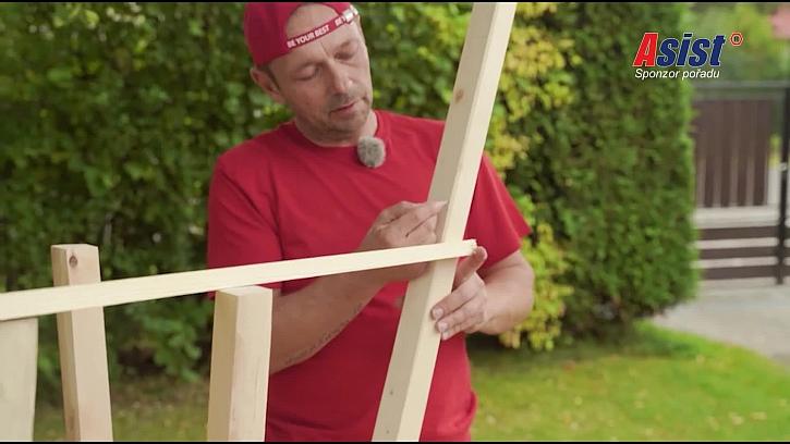 Měření délky latky