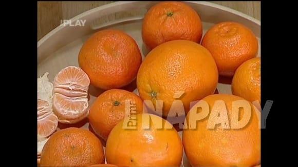 Vitaminy z pomerančů a klementinek