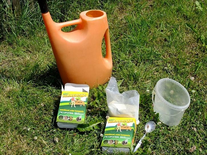BIO Kompostér - urychlovač kompostu