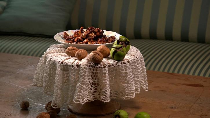 Recept na pečené ořechy v chilli