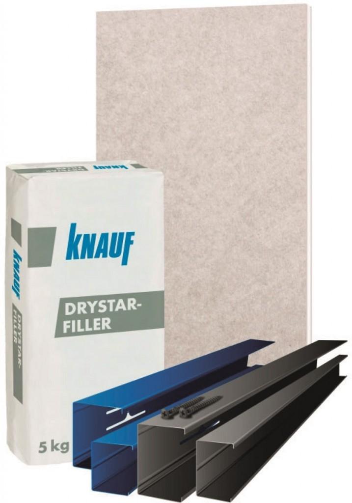 Knauf Drystar s maximální odolností vůči vlhkosti