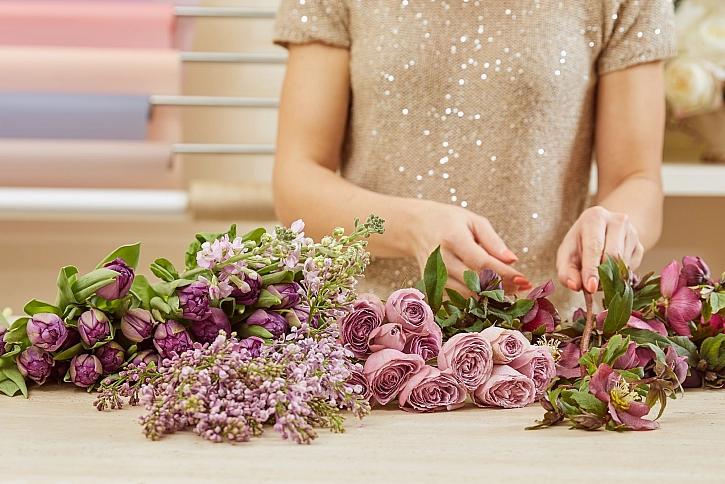 Výběr květin
