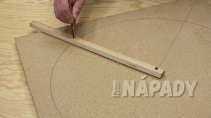 Výroba kulatého ozdobného plůtku: vytvoříme šablonu