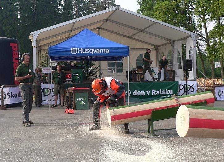 Mistrovství České republiky v práci s motorovou pilou
