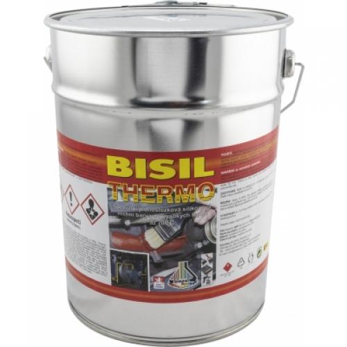 Bisil Thermo žáruvzdorná barva 700 °C, 0199 černá, 8 kg