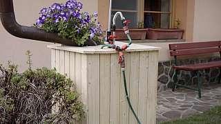Sud na vodu můžete zakrýt šikovným opláštěním