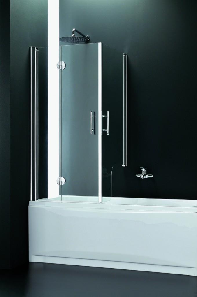 Čištění sprchového koutu: Když se sprchový kout čistí takřka sám