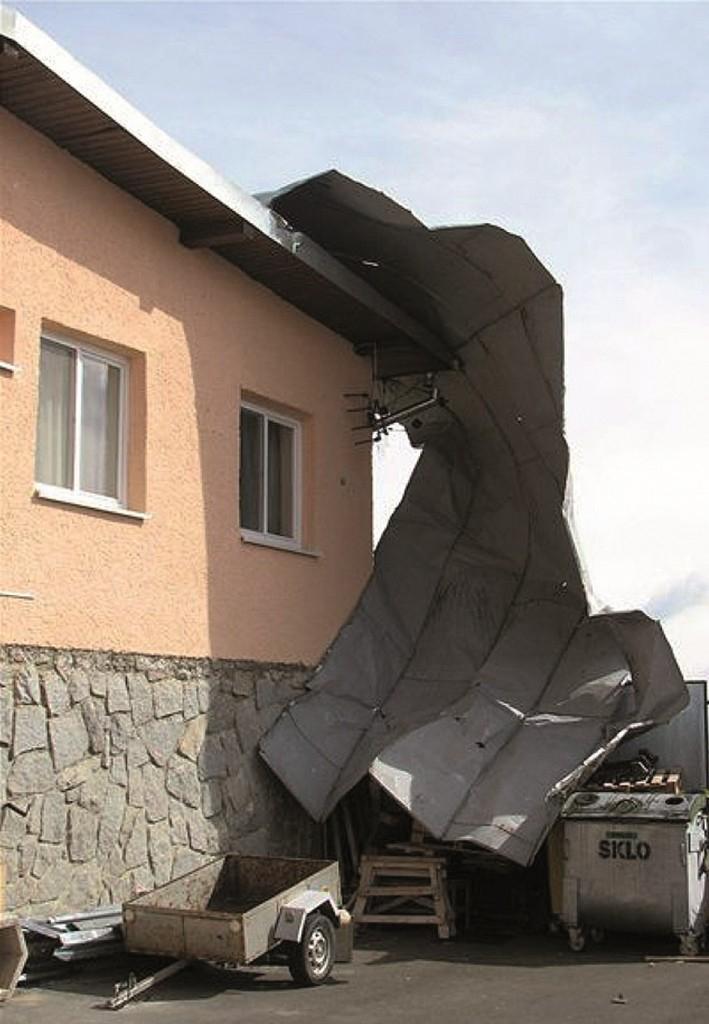Silný vítr = stav nejvyššího ohrožení