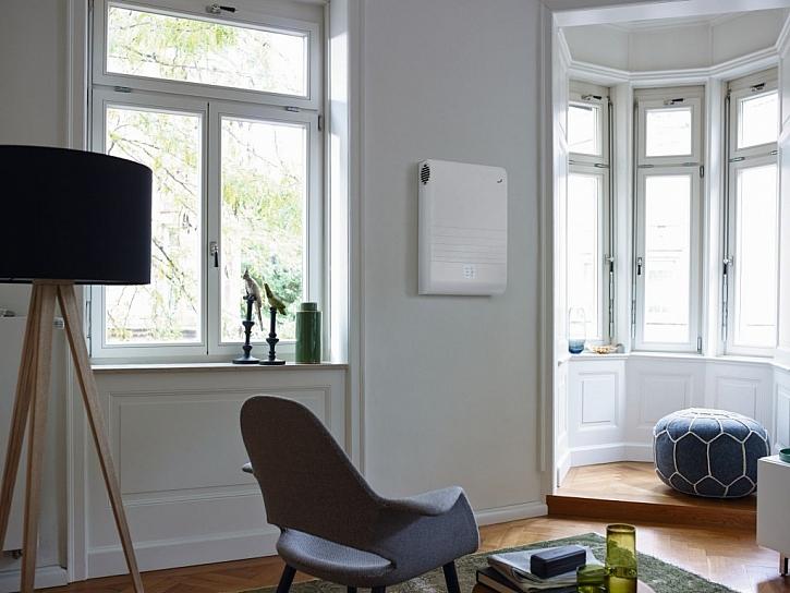 4. Praktický příklad větrání s rekuperací - rekonstrukce bytu (Zdroj: Zehnder)