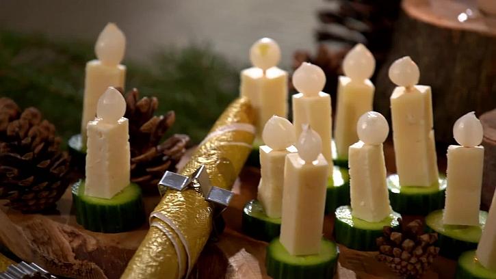 Chutné vánoční zobání