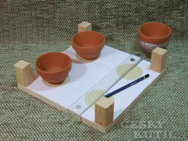 Výroba dřevěného adventního svícnu