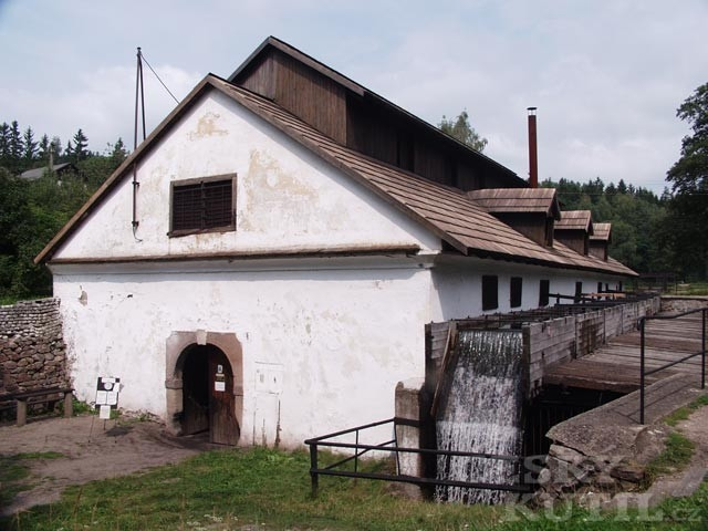 Hamr v Dobřívi u Rokycan
