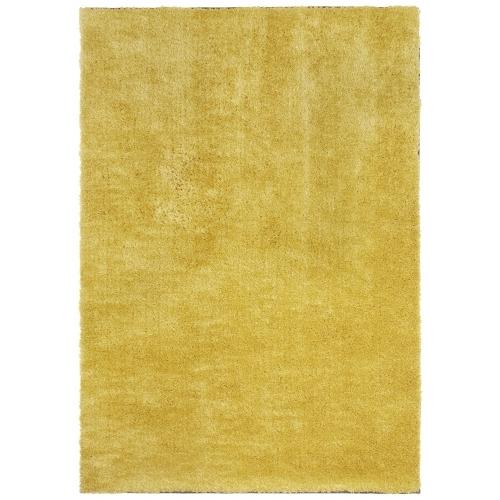 Ručně všívaný kusový koberec Mujkoberec Original 104200 - 200x290 cm Žlutá