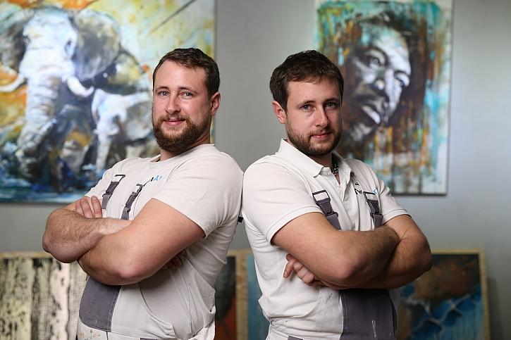 3. díl: TwinArt - kreativní malíři