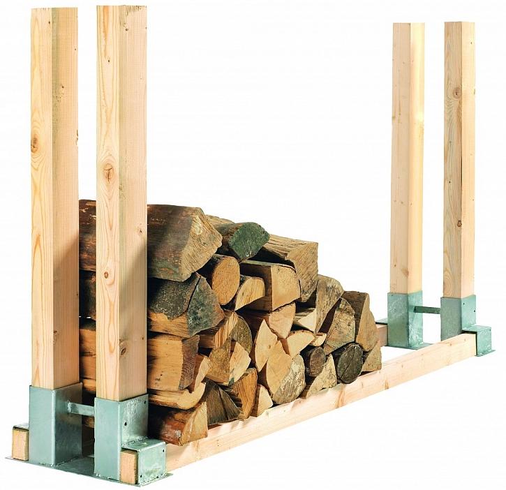 Kupované dřevo na zimu