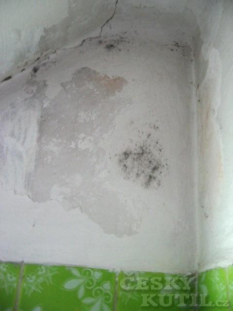 Plíseň v koupelně podruhé