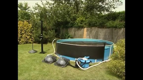 Solární ohřev vody v bazénech