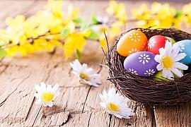 Velikonoční barvy jsou plné symboliky
