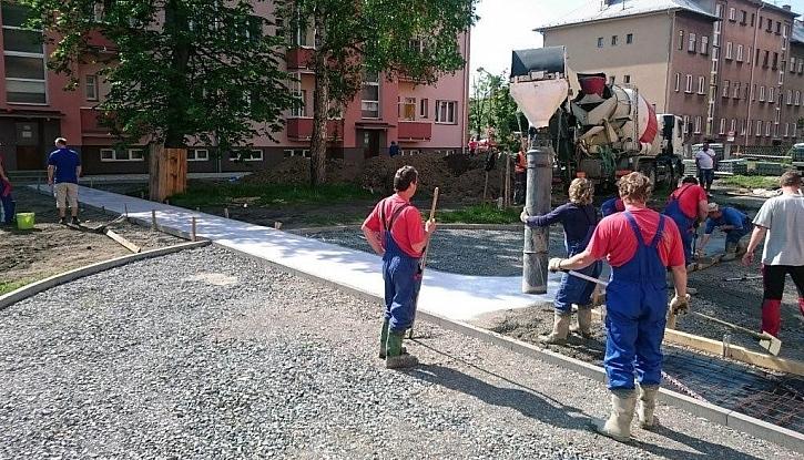 Mrazuvzdorná betonová směs zpracovatelná do 90 minut