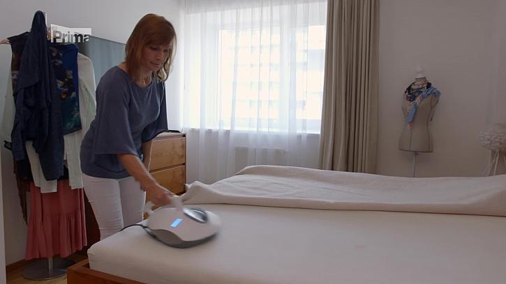 Vysávání matrace