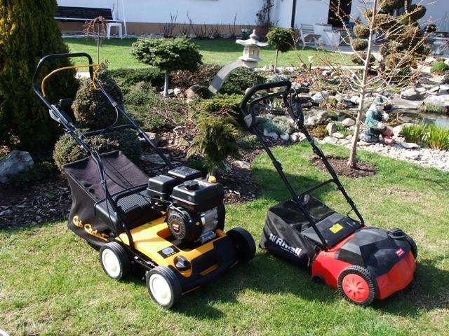 Vertikutátor Cub Cadet - hezčí tráva než u souseda