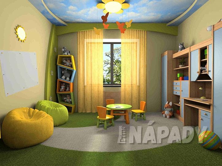 Do dětského pokoje zvolte vhodné barvy (Zdroj: Depositphotos.com)