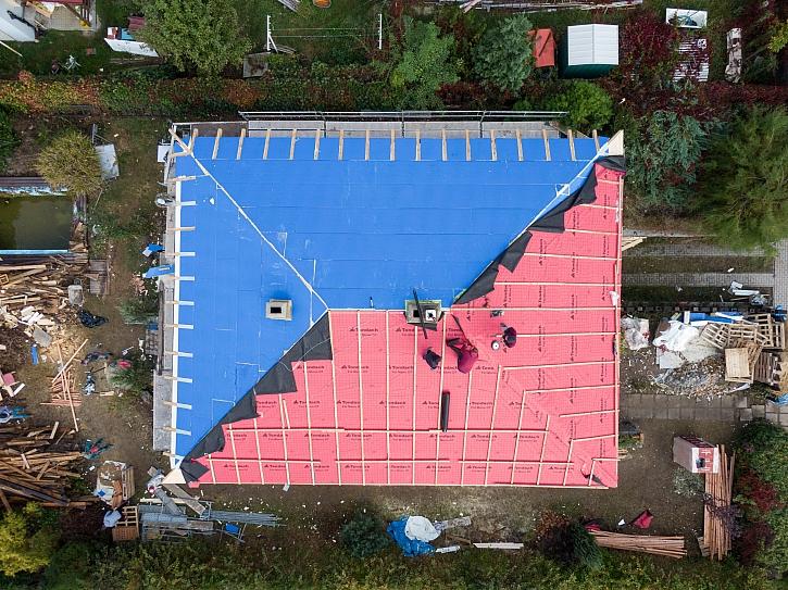 Montáž střechy krok za krokem