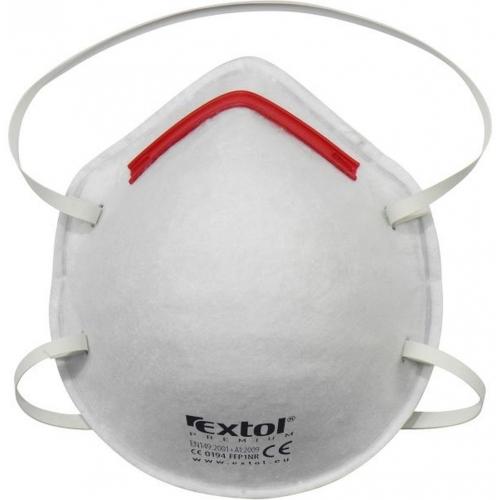 EXTOL PREMIUM respirátory FFP1, sada 5ks, tvarované