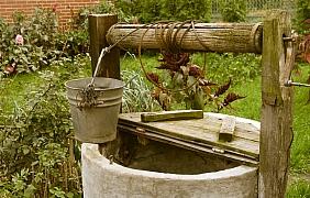 Dominanta zahrady – okrasná studna