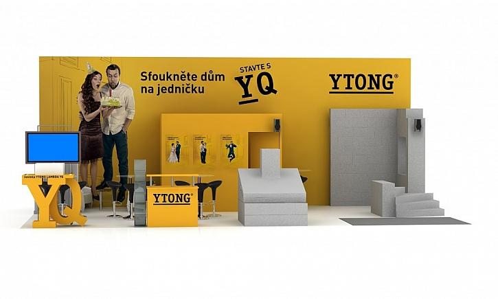 Ytong na Stavebním veletrhu 2017 - poradenství, praktické ukázky i prodejní akce