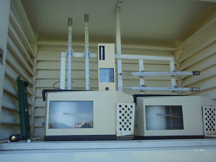Meteorologická stanice je velmi potřebné zařízení pro pěstitele (Zdroj: Jan Kopřiva)
