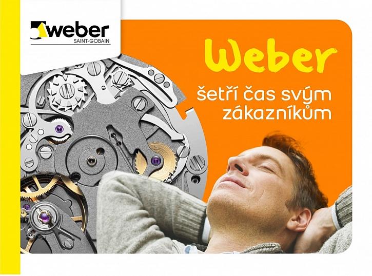 Weber šetří čas svým zákazníkům