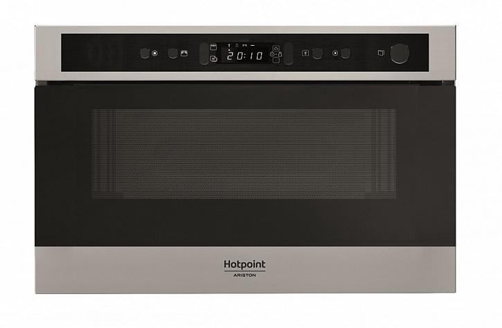 Mikrovlnná trouba Hotpoint MN 512 IX HA s vařením v páře do horní skříňky