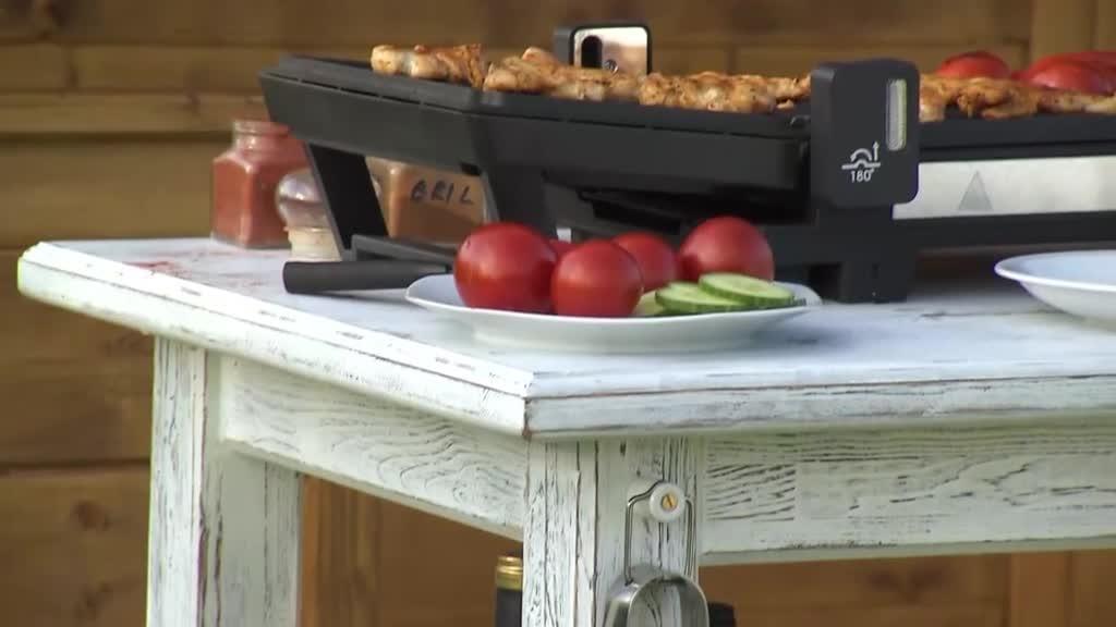 Výrobte si s námi přenosný rustikální stolek pod elektický gril