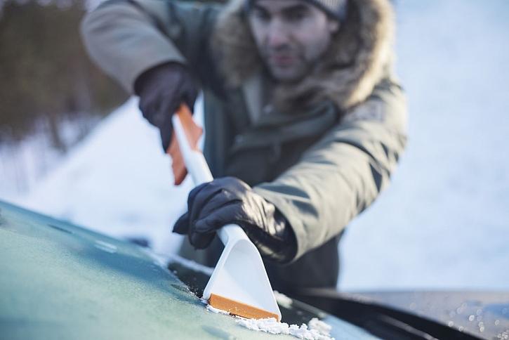 Odklízení sněhu je se správným nářadím snadné!