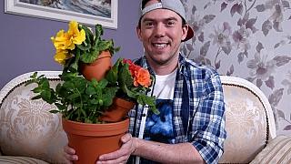 Neposlušné květináče: Patrové minizahrádky podle Ládi Hrušky