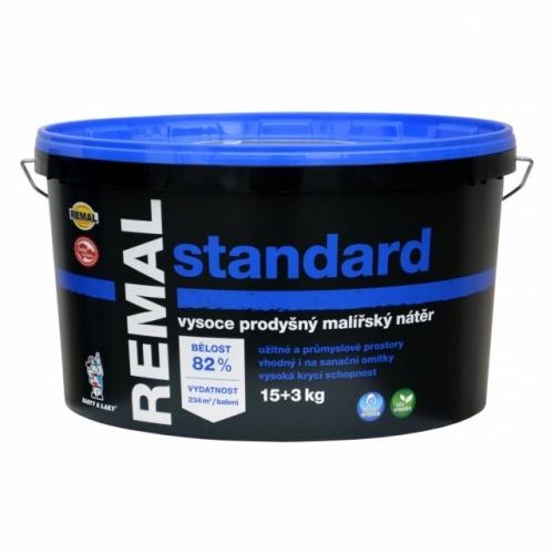 Remal Standard vysoce prodyšná malířská barva 15 + 3 kg