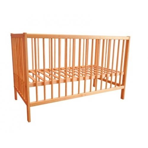 VETRO-PLUS Dětská postýlka dřevěná, dřevo borovice 22BEDCHL