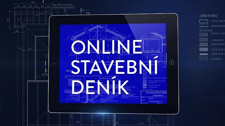 Online stavební deník a kontrola vyzdívky komínu