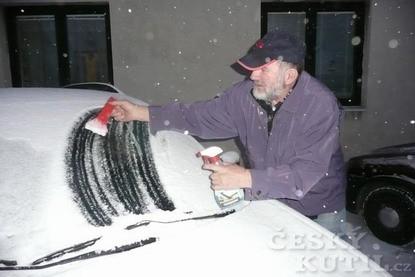 Zimní problém s ostřikovači