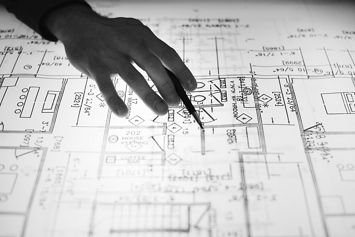 Na začátku je plánování stavby domu - dům nevymyslíte za večer