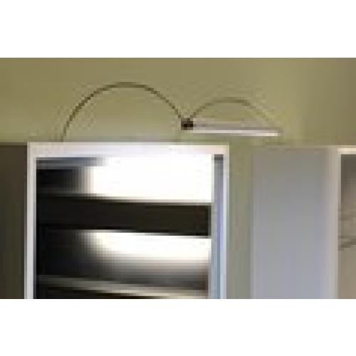SAPHO FROMT LED nástěnné svítidlo 102cm 15W, hliník