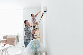 Jakou zvolit barvu, jaké náčiní si připravit a co neopomenout při malování